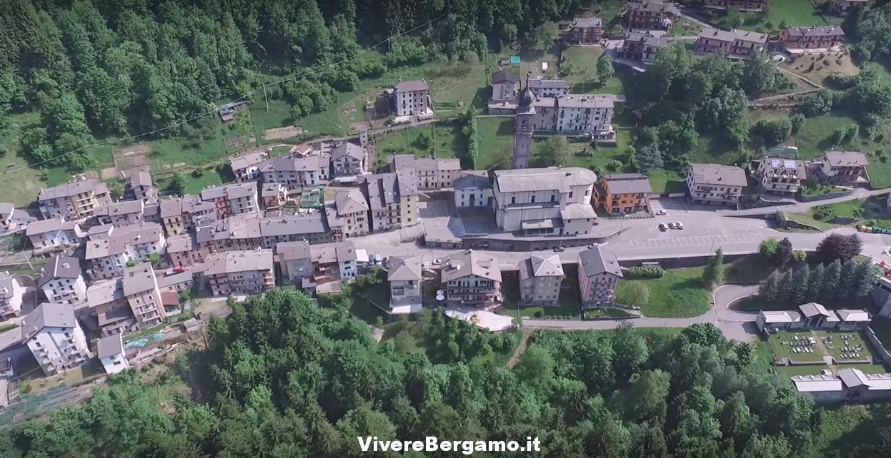 Roncobello Video drone Alta Val Brembana