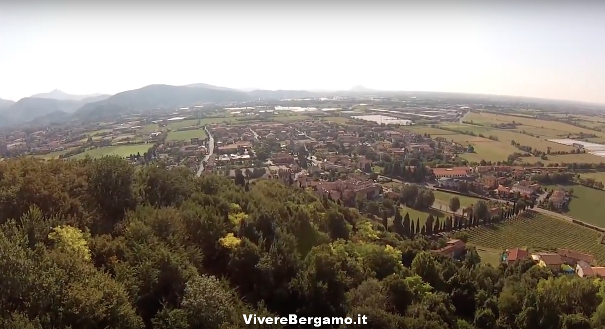 Bagnatica Video dal drone