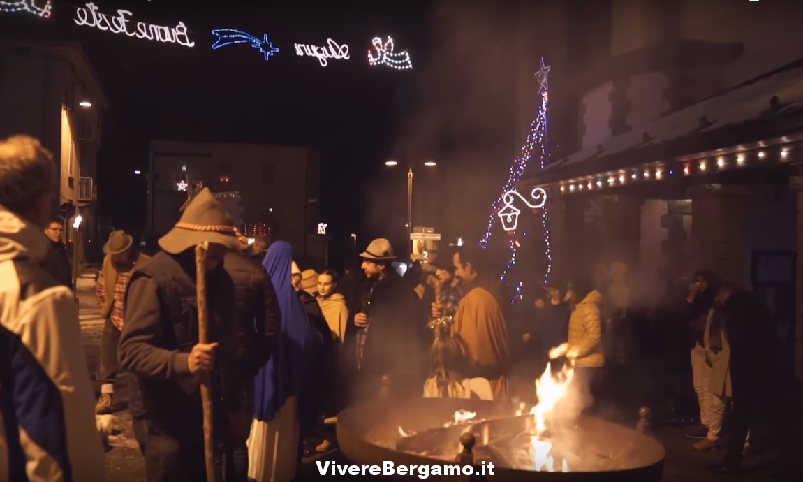 Video Presepe Vivente di Ascensione 2017 - Costa Serina